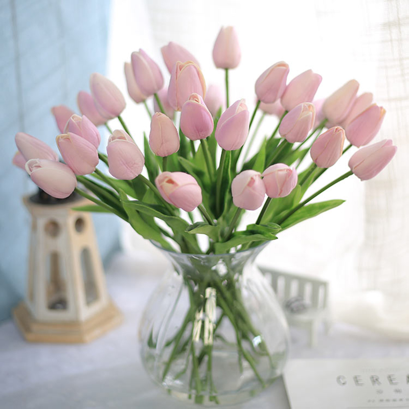 Tulip Artificial Flowers Wedding Decor Simulation China Shop Direct